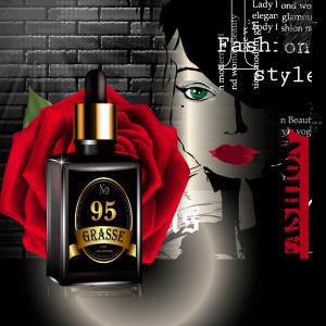 GRASSE  095- Аромат направления DALI FEMININ Black Edition (Salvador Dali)
